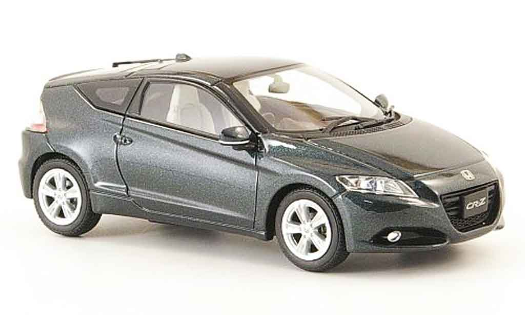 Honda CR-Z 1/43 Ebbro anthrazit RHD 2010 diecast model cars