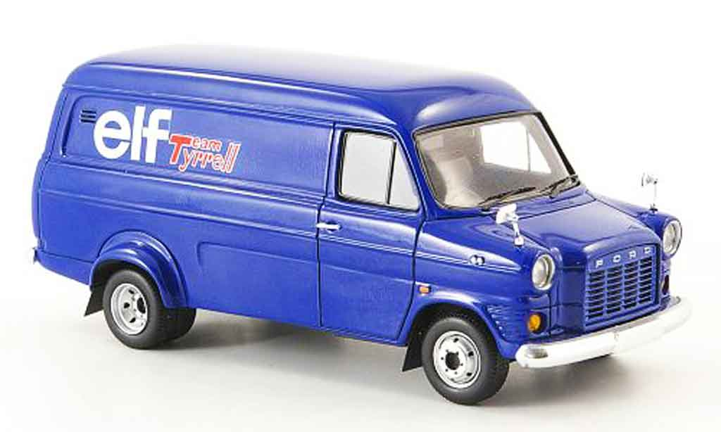 Ford Transit 1/43 Spark Team Tyrrell elf 1974 miniature