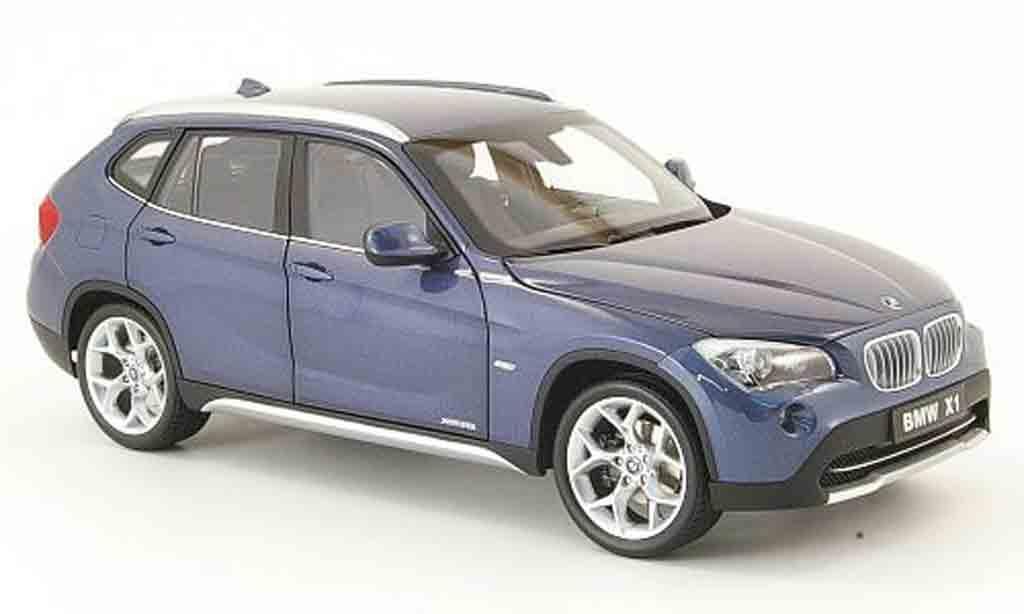 Bmw X1 1/18 Kyosho 2.8i xdrive blue diecast model cars