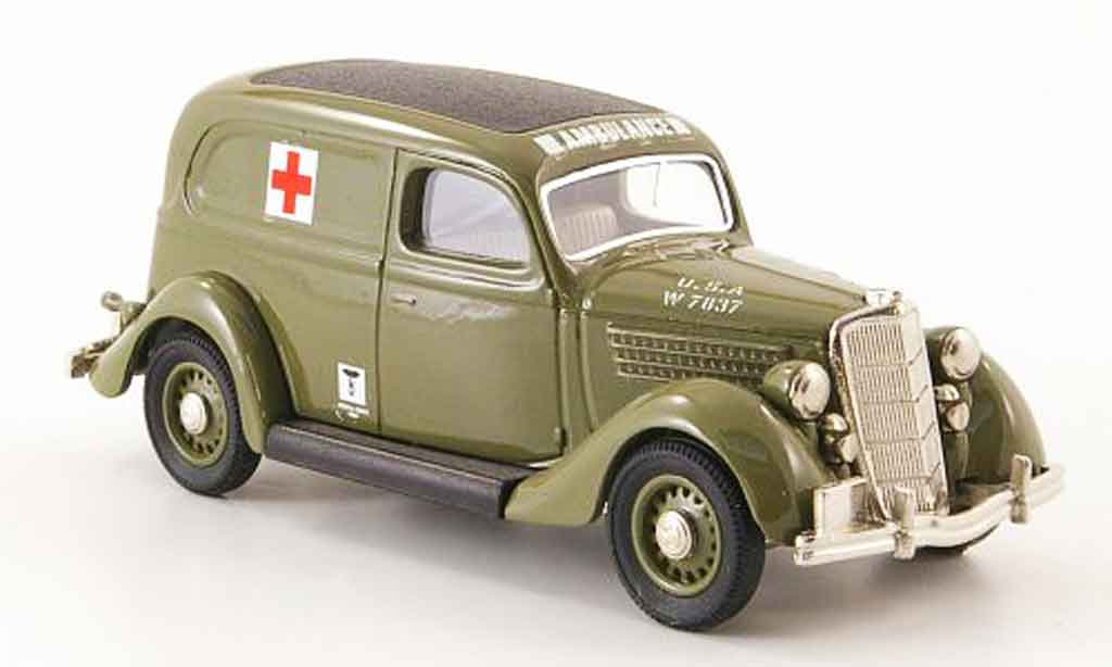 Ford 35 Type 1/43 Rextoys 48 US Medical Corps Ambulance 1935 miniature