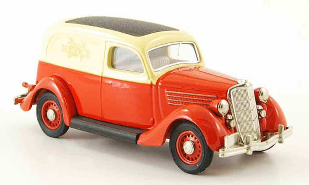 Ford 35 Type 1/43 Rextoys 48 Nestl? rouge beige 1935 miniature