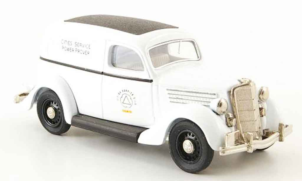 Ford 35 Type 1/43 Rextoys 48 Cities Service Oils Power Prover 1935 miniature