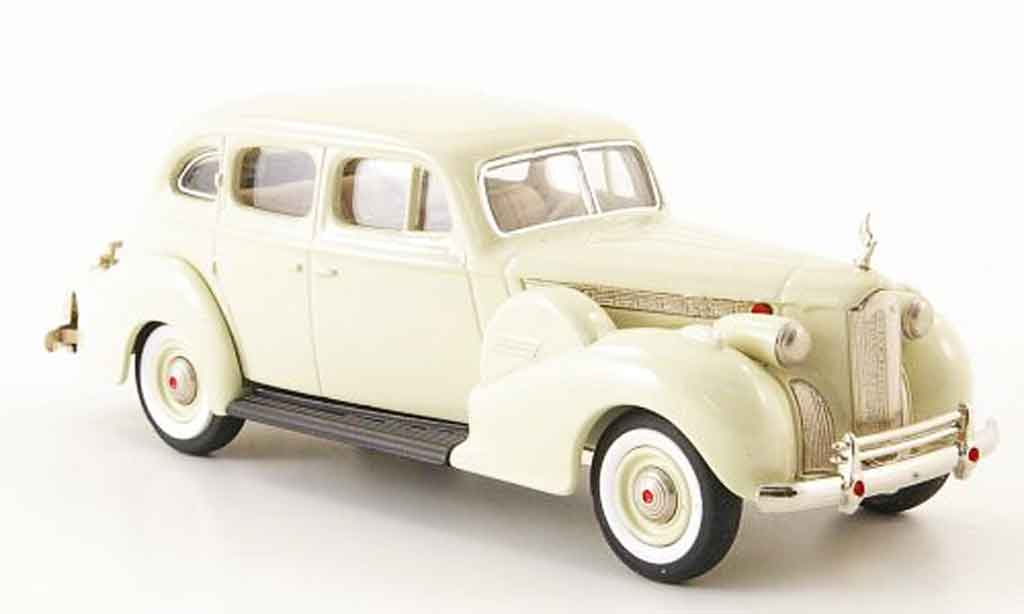 Packard Super 8 1/43 Rextoys Sedan beige 1940 miniature