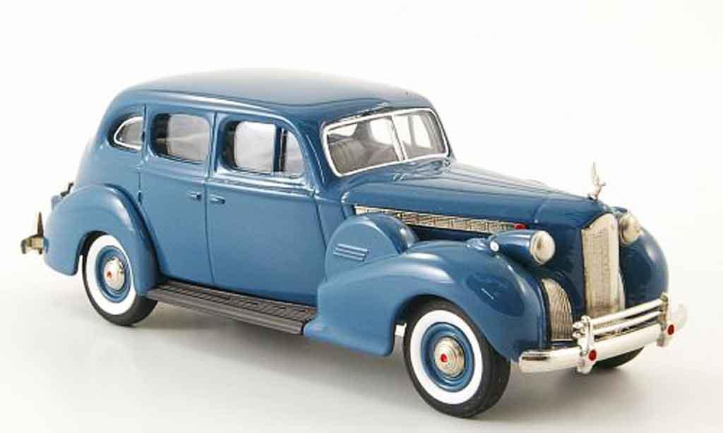 Packard Super 8 1/43 Rextoys Sedan bleu 1940 miniature
