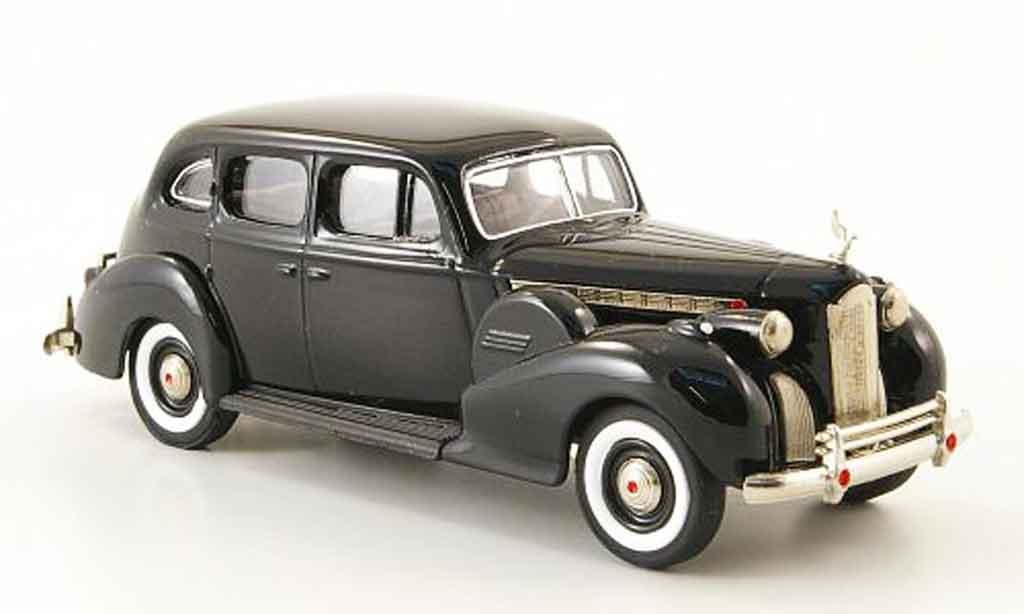 Packard Super 8 1/43 Rextoys Sedan noire 1940 miniature