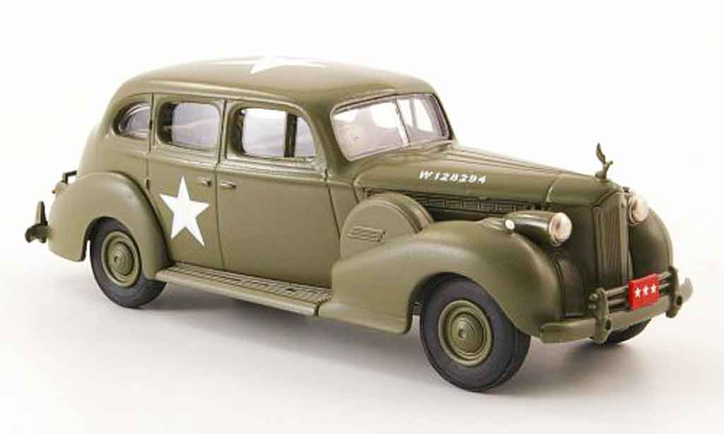 Packard Super 8 1/43 Rextoys Sedan US Army olivgrun 1940 miniature