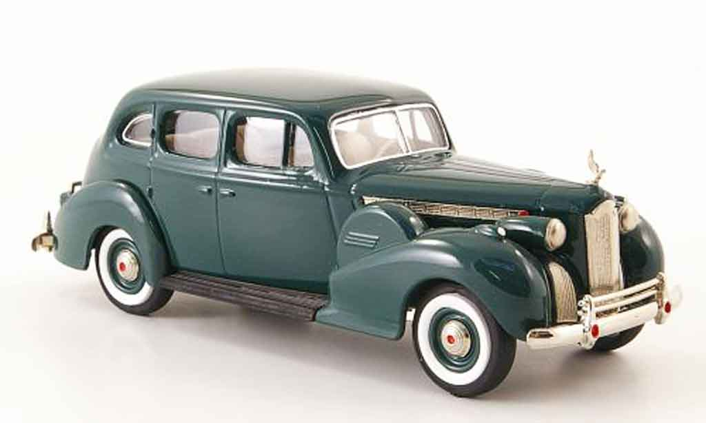 Packard Super 8 1/43 Rextoys Sedan grun 1940 miniature