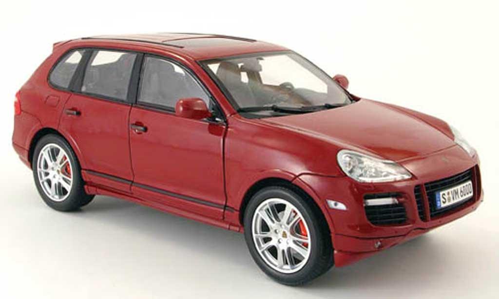 Porsche Cayenne GTS 1/18 Norev i rouge 2007-2010 miniature