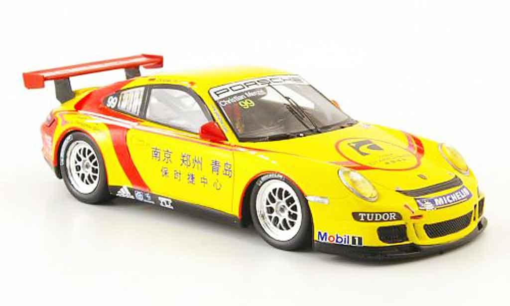 Porsche 997 GT3 CUP 1/43 Spark GT3 Cup 2009 No.99 Carrera Cup Asien miniature