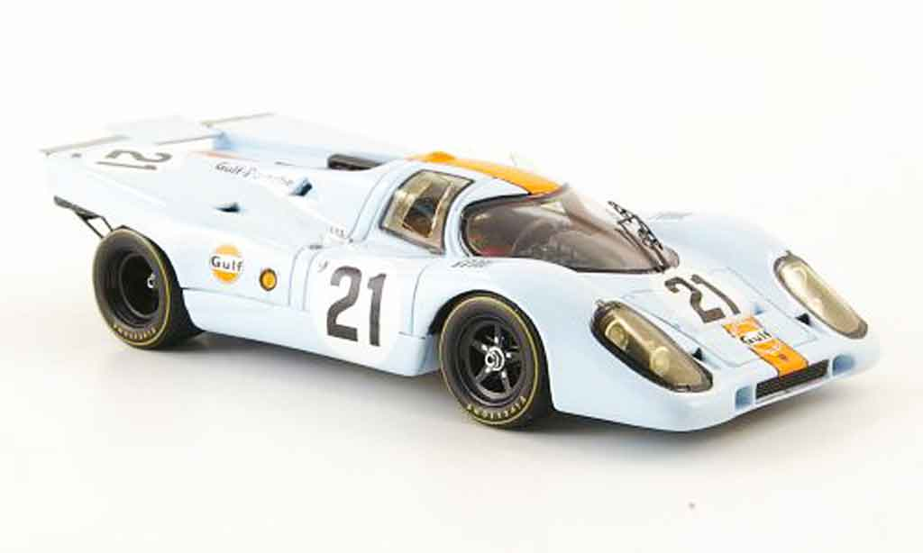 Porsche 917 1970 1/43 Spark No.21 Gulf 24h Le Mans miniature