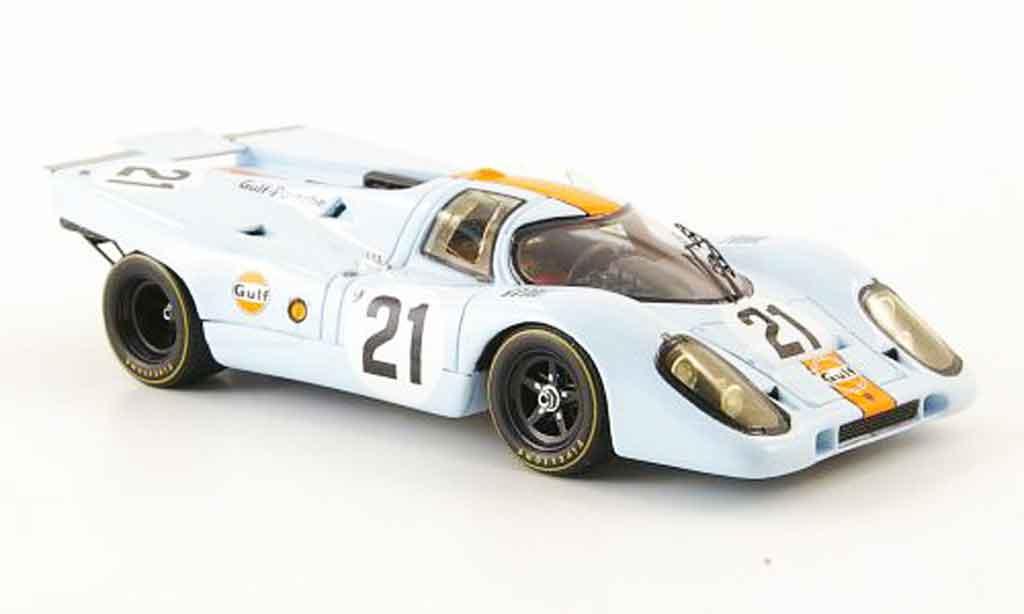 Porsche 917 1970 1/43 Spark No.21 Gulf 24h Le Mans diecast model cars