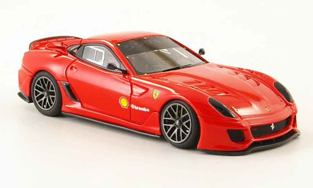 Ferrari 599 XX 1/43 Look Smart red rundenrekord nurburgring diecast model cars
