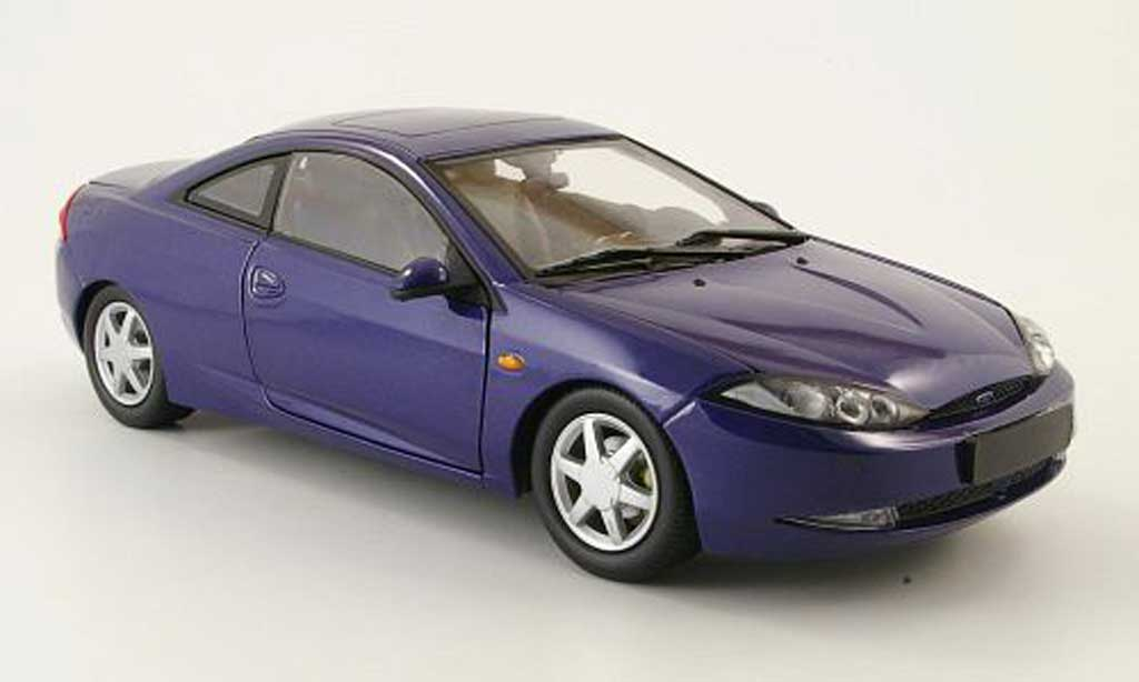 Ford Cougar 1/18 Action Performance bleu miniature