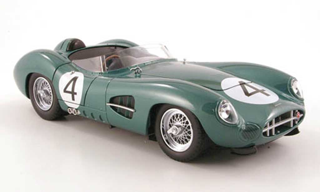 Aston Martin DBR1 1/18 Shelby Collectibles no.4 1959 miniature