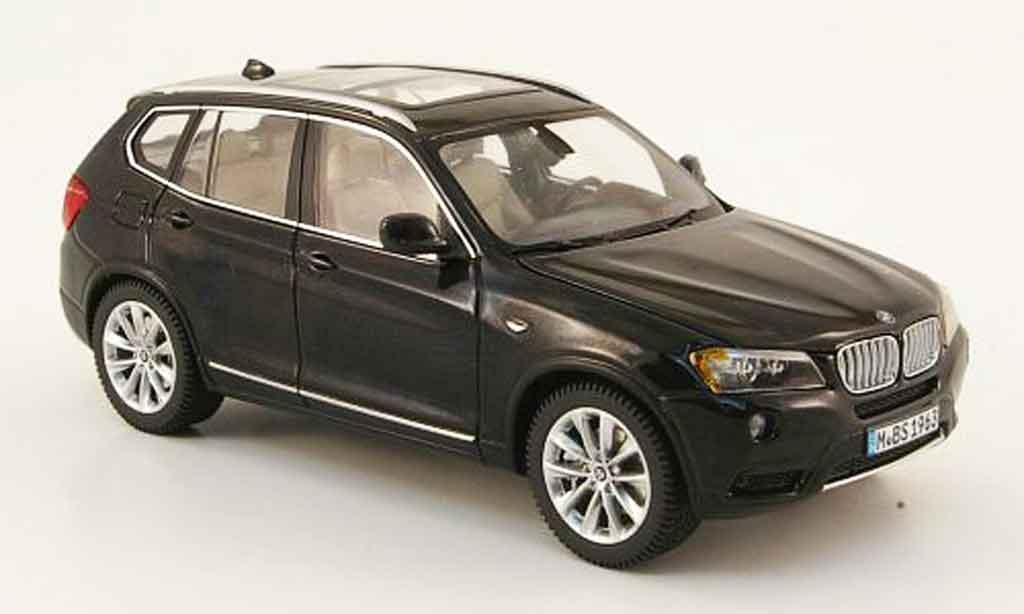 bmw x3 f25 schwarz 2010 schuco modellauto 1 43 kaufen. Black Bedroom Furniture Sets. Home Design Ideas