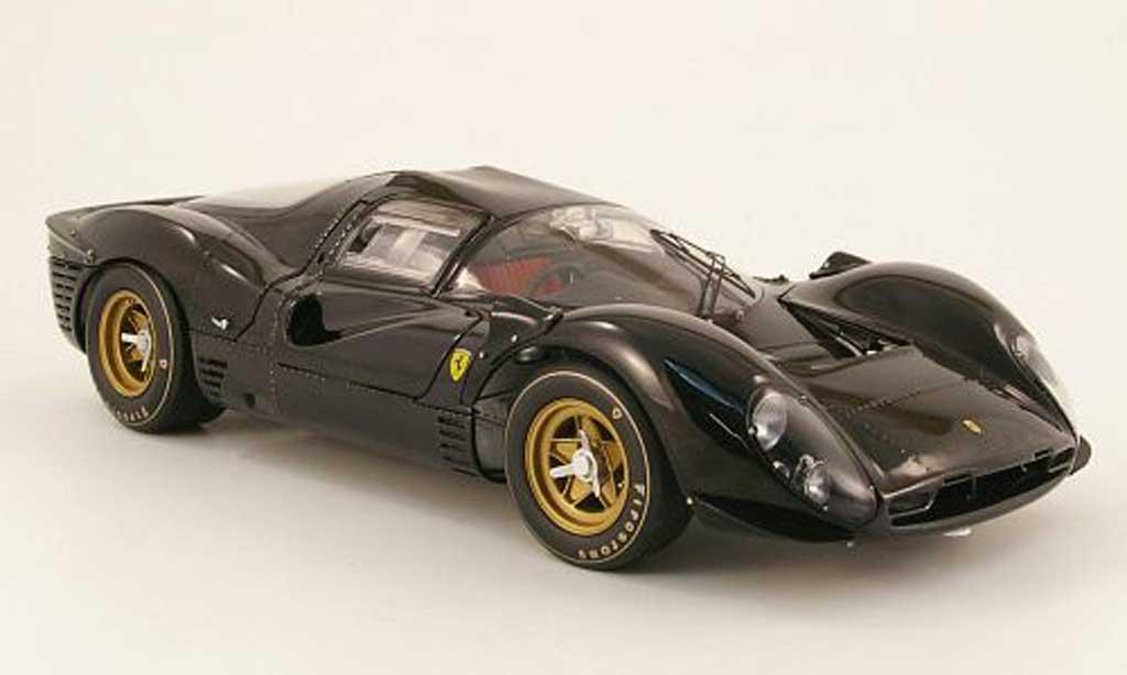 Ferrari 330 P4 1/18 GMP prougeotype noir miniature