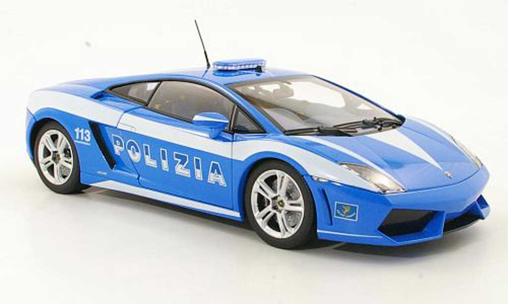 Lamborghini Gallardo LP560-4 LP560-4 1/18 Norev Polizia Polizei (IT) 2009 miniature