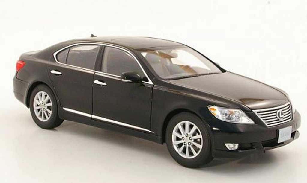 lexus ls 460 schwarz 2010 norev modellauto 1 18 kaufen. Black Bedroom Furniture Sets. Home Design Ideas
