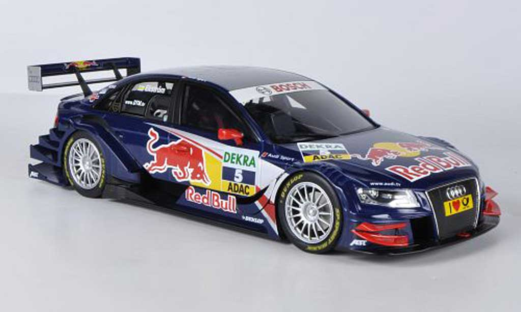 Audi A4 DTM 1/18 Norev No.5 Red BullTeam Abt 2009 miniature