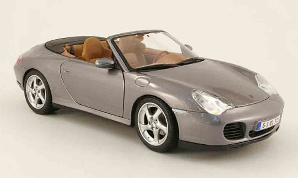 porsche 996 cabriolet 4s grau 2003 maisto modellauto 1 18 kaufen verkauf modellauto online. Black Bedroom Furniture Sets. Home Design Ideas
