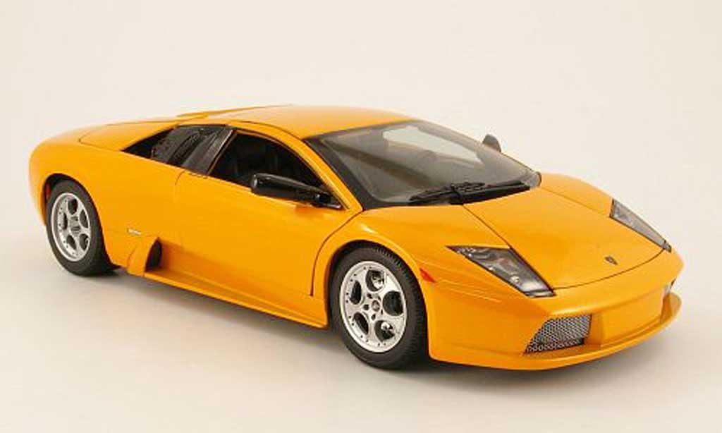 Lamborghini Murcielago 1/18 Maisto orange 2002 miniature