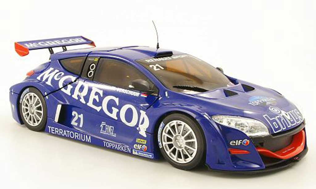 Renault Megane Trophy 1/18 Norev V6 No.21 McGregor World Series 2009 M.Verschuur miniature