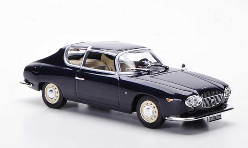 Lancia Flavia 1/43 Norev Sport Zagato bleu 1962 miniature