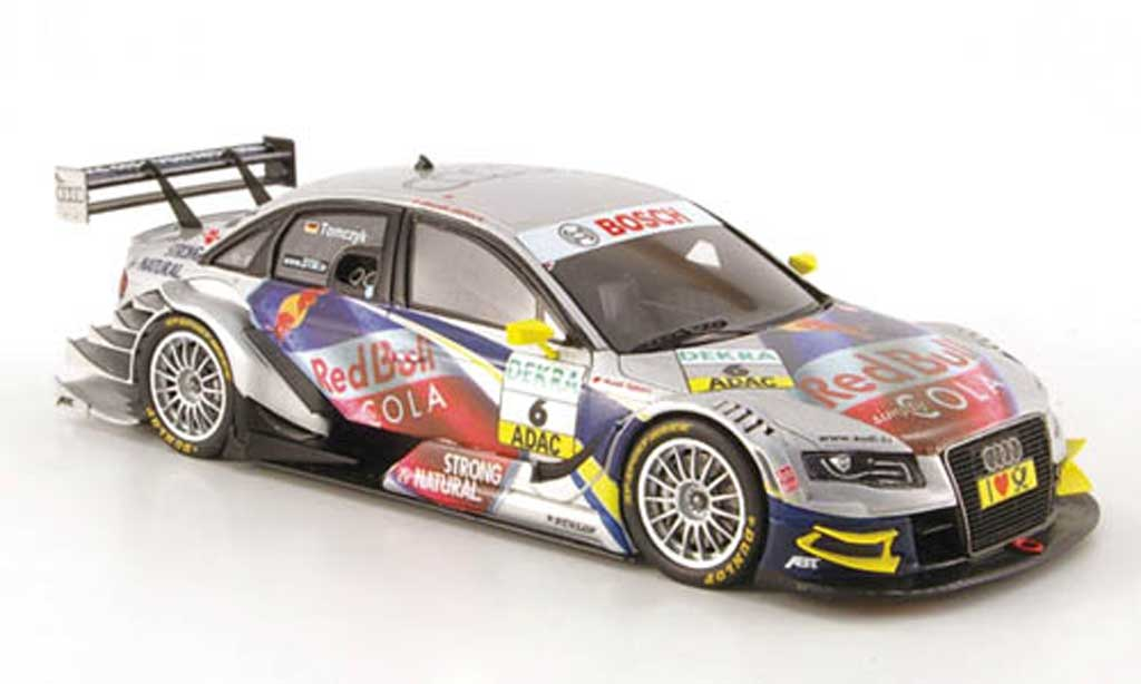 Audi A4 DTM 1/43 Spark No.6 Red Bull Cola Saison 2010 miniature