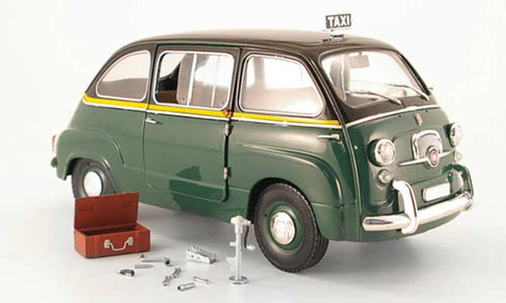 Fiat 600 1/18 Mini Miniera d multipla taxi rom 1960 miniature