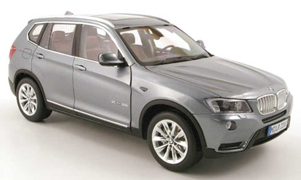 Bmw X3 F25 (f25) gray 2010 Norev. Bmw X3 F25 (f25) gray 2010 miniature 1/18