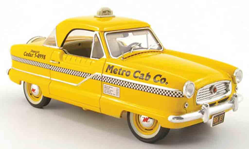 Metropolitan 1500 metro cab taxi 1959 Highway 61. Metropolitan 1500 metro cab taxi 1959 Taxi miniature 1/18