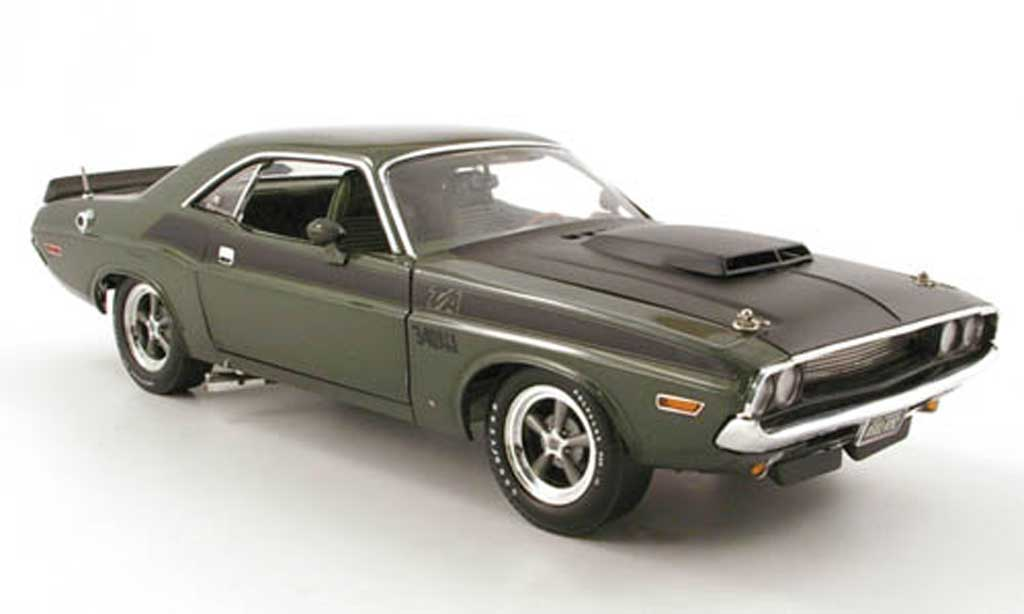 Dodge Challenger 1970 1/18 Highway 61 t/a grun miniature
