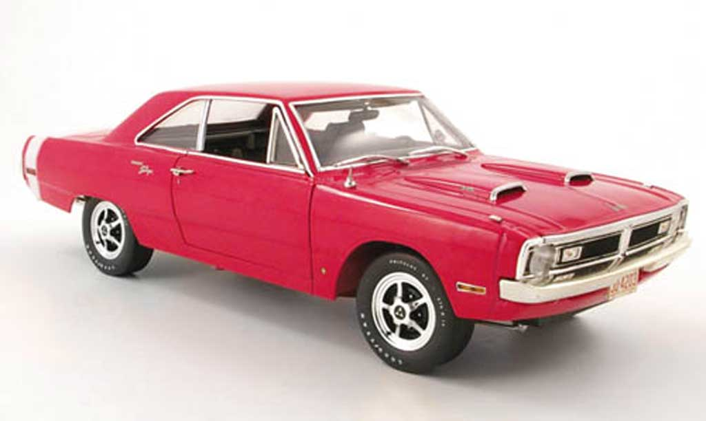 Dodge Dart 1970 1/18 Highway 61 swinger pink miniature