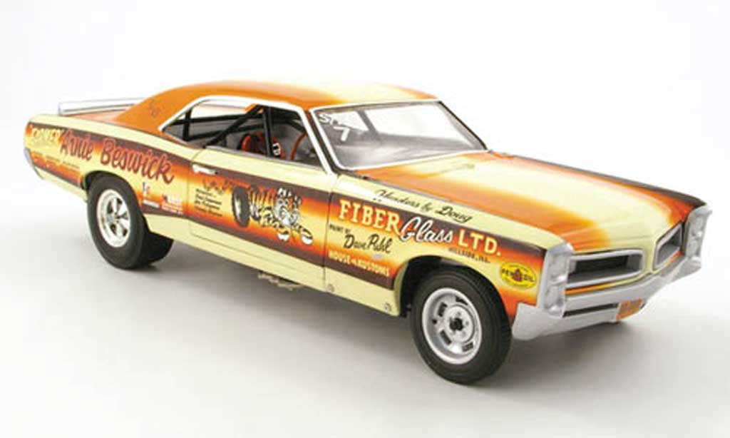 Pontiac GTO 1/18 Highway 61 drag car arnie beswick miniature