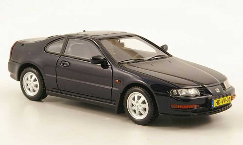 Honda Prelude 1992 MKIV Blue Neo Diecast Model Car 1/43