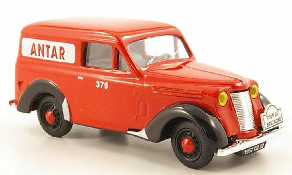 Renault Juvaquatre 1/43 Eligor Tolee Antar - Tour de Bretagne miniature