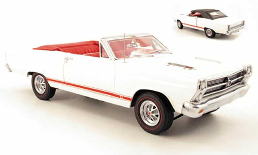 Ford Fairlane 1966 1/18 GMP gt 390 white diecast model cars