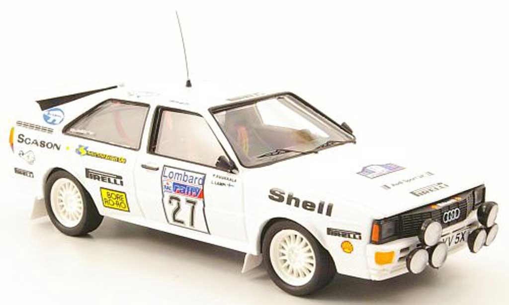 Audi Quattro 1/43 Trofeu No.27 Lampi/Kuukkala RAC Rally 1982 miniature