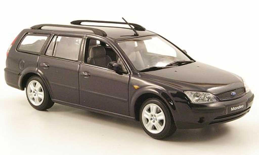 Ford Mondeo 2001 1/43 Minichamps MKIII Turnier bleu diecast model cars