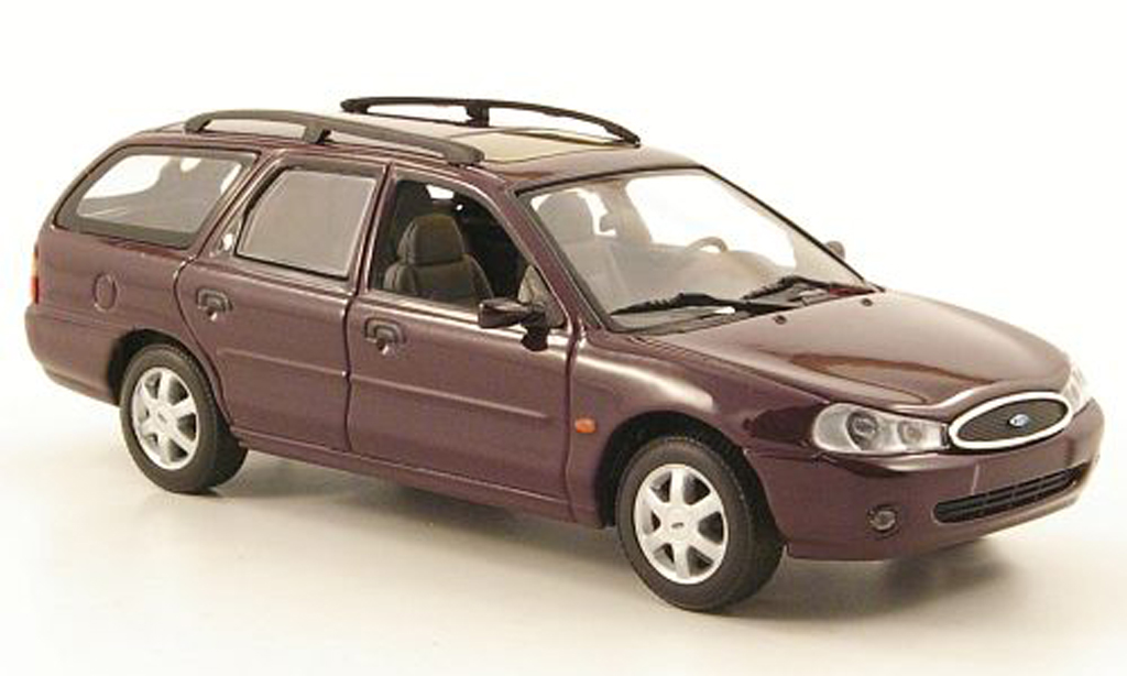 Ford Mondeo 1998 1/43 Minichamps MKII Turnier noire-lila miniature