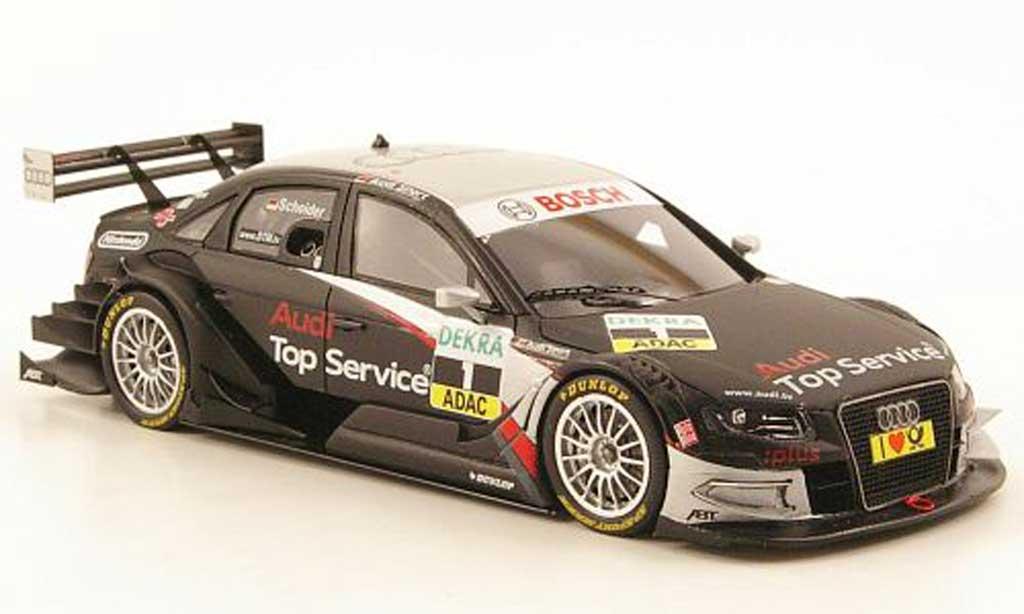 Audi A4 DTM 1/43 Spark No.1 Top Service Saison 2010 modellautos
