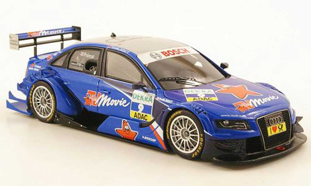 Audi A4 DTM 1/43 Spark No.9 TV Movie Saison 2010 miniature