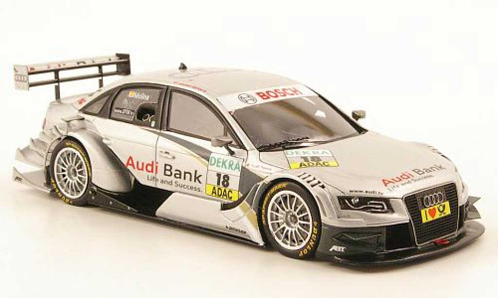 Audi A4 DTM 1/43 Spark No.18 Bank Saison 2010 diecast model cars