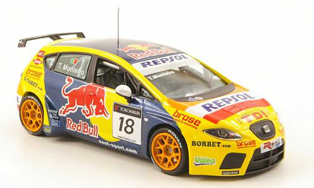 Seat Leon WTCC 1/43 J Collection TDI No.18 Repsol Brands Hatch 2008 miniature