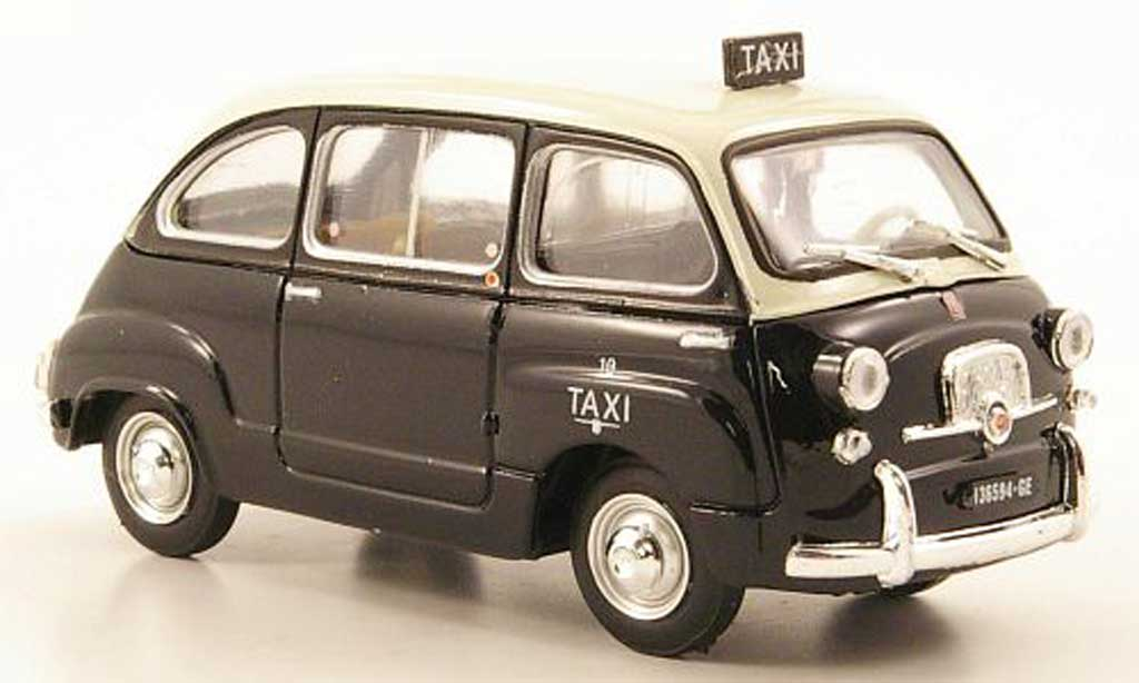 fiat 600 d multipla taxi genua 1960 brumm modellauto 1 43. Black Bedroom Furniture Sets. Home Design Ideas