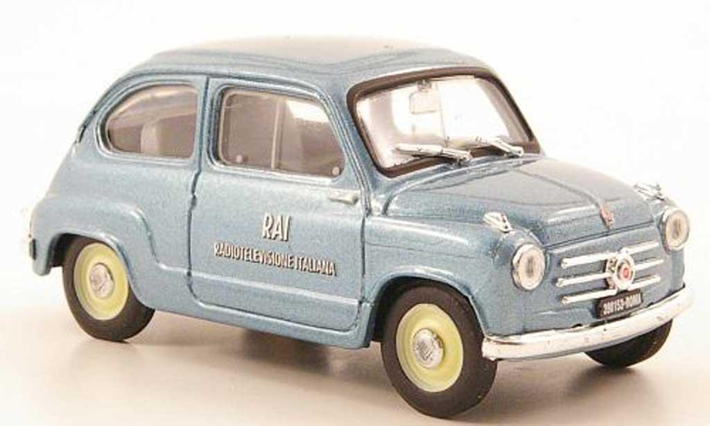 Fiat 600 1/43 Brumm RAI 1960 miniature