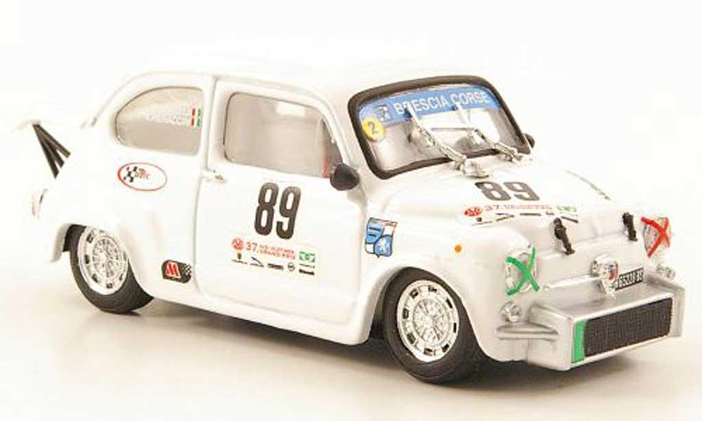Fiat 850 1/43 Brumm Abarth TC No.89 24h Classic Nurburgring 2009 miniature