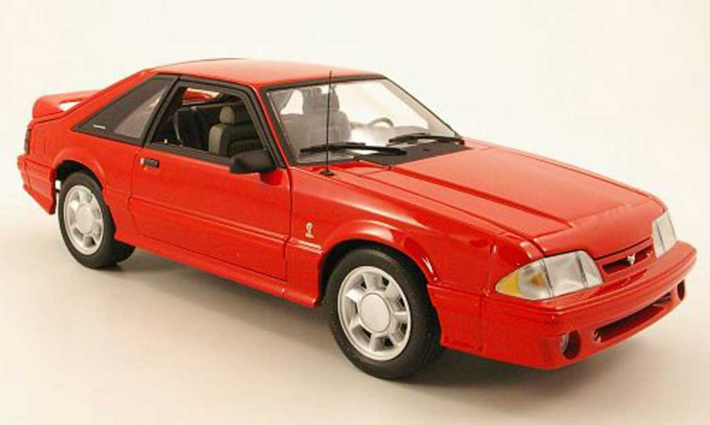 Ford Mustang 1993 1/18 GMP 1993 cobra red diecast model cars