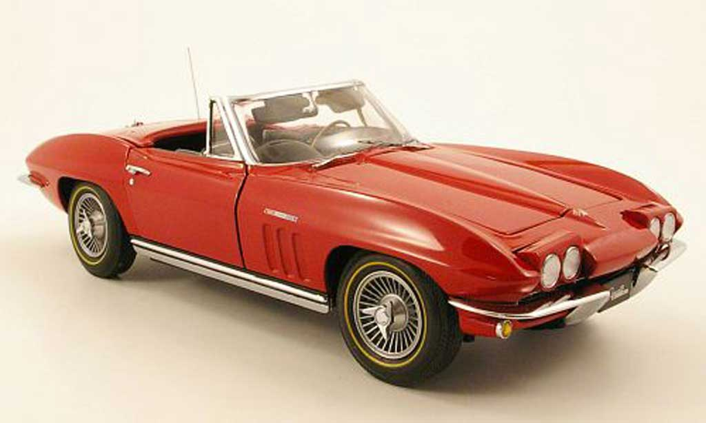 Chevrolet Corvette C2 1/18 GMP rouge 1965 miniature
