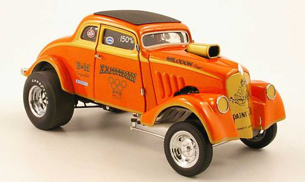 Ford Hot Rod 1/18 Precision willys coupe gasser drag car k.s.pittman 1933 miniature